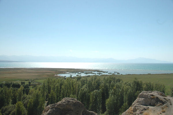 Lake Van from Van