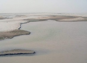 The river Chenab, directly south of Uch