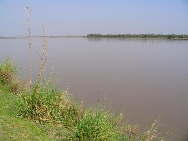 The Chenab between Guhrat and Sialkot (1)