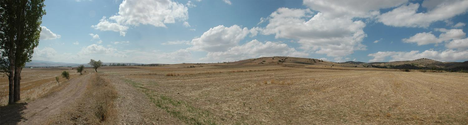 Panorama of the Zela battlefield