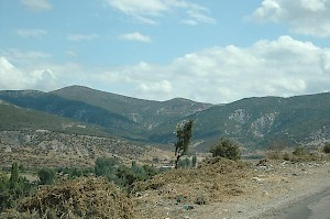 Mountains between Amasia and Zela