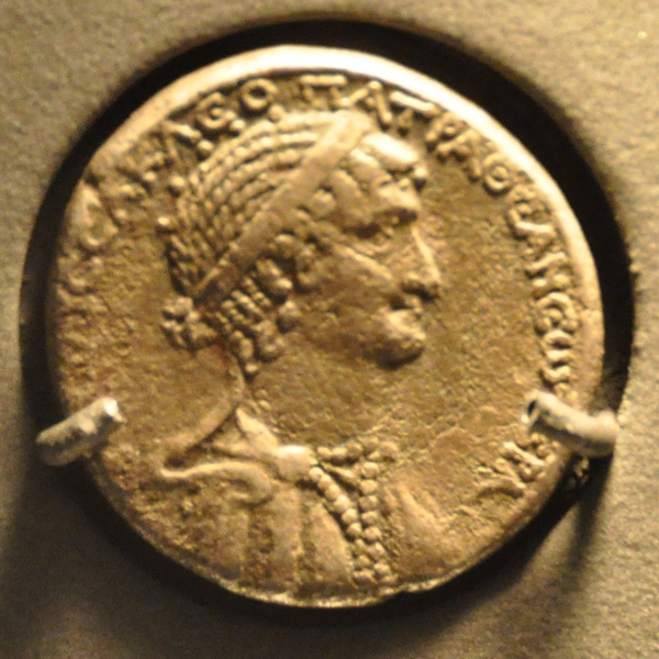 Cleopatra VII Philopator, coin