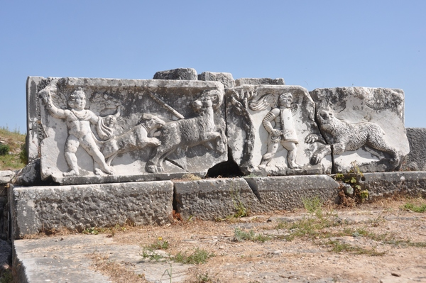 Miletus, theater, decoration (4)