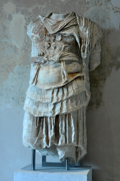 Miletus, theater, statue of an emperor