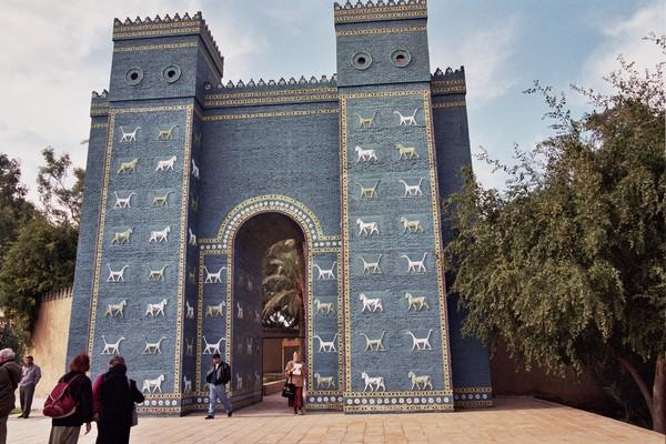 ishtar gate reconstruction livius