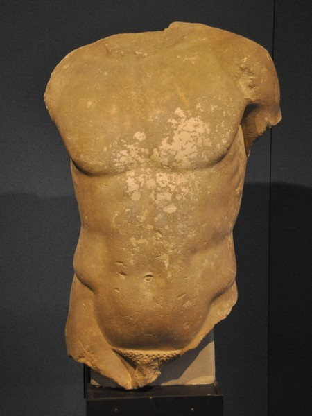 Syracuse, torso of a kouros
