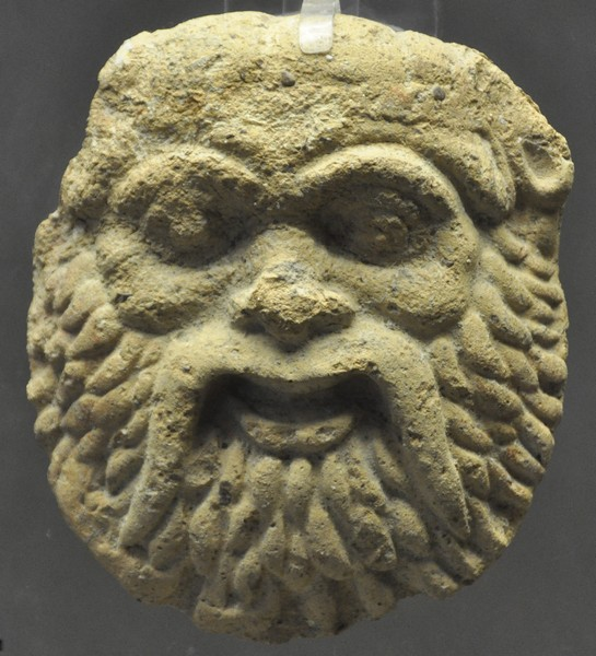 Syracuse, mask of Silenus