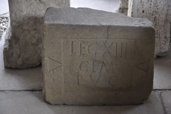 Inscription of a legionary of XIII Gemina
