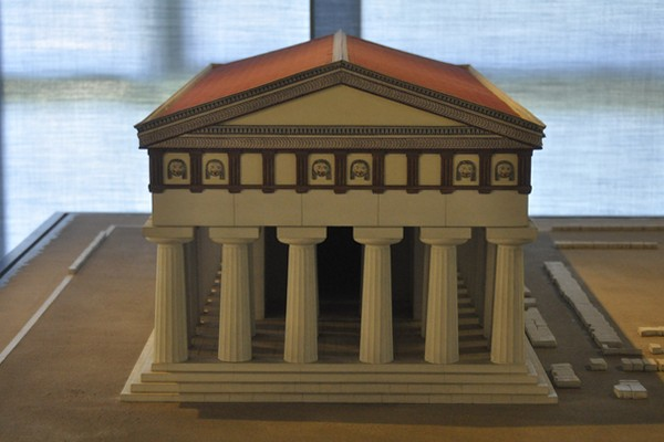 Temple of Apollo, model