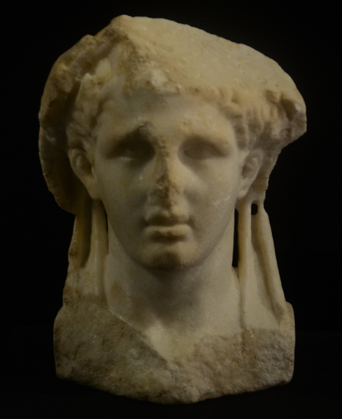 Syracuse, Hellenistic head of Dionysus