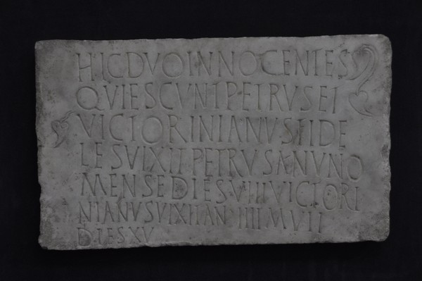 Sirmium, Christian inscription