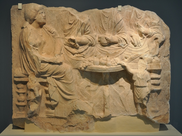 Philippi, funerary meal