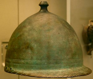 Roman helmet from the age of the Punic Wars