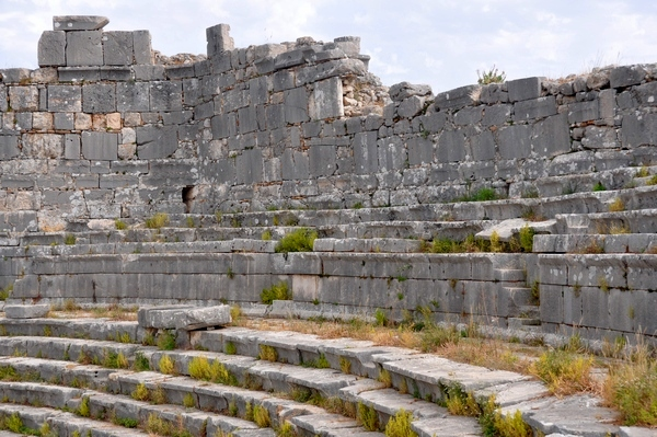 Xanthus, Roman theater with late-antique fortification