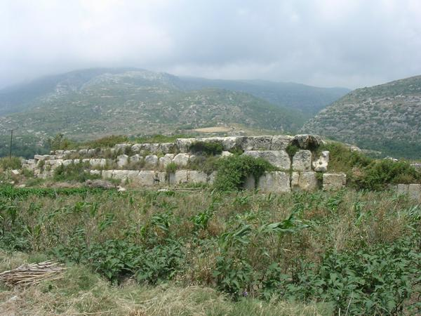 Seleucia in Pieria: city wall