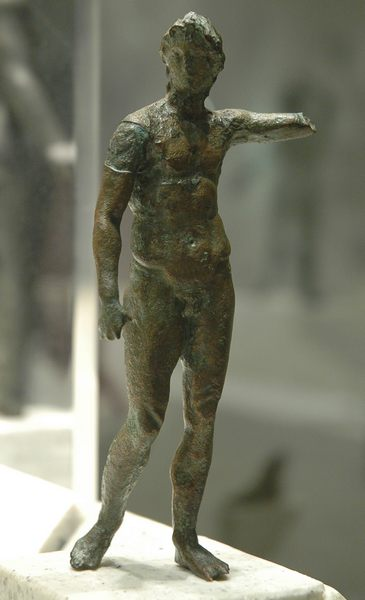 Alexander, statuette from Lower Egypt