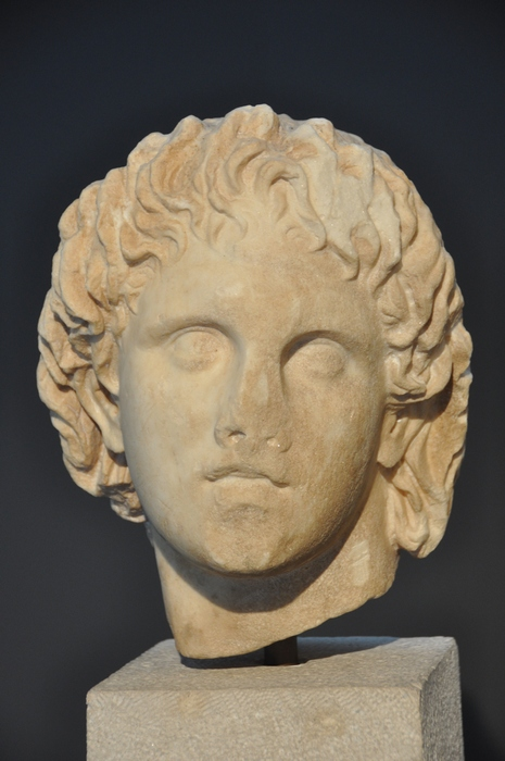Giannitsa, Portrait of Alexander the Great