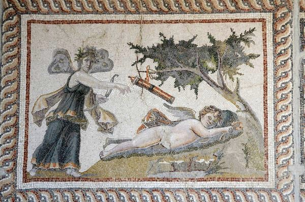 Seleucia in Pieria, Mosaic of Eros and Psyche