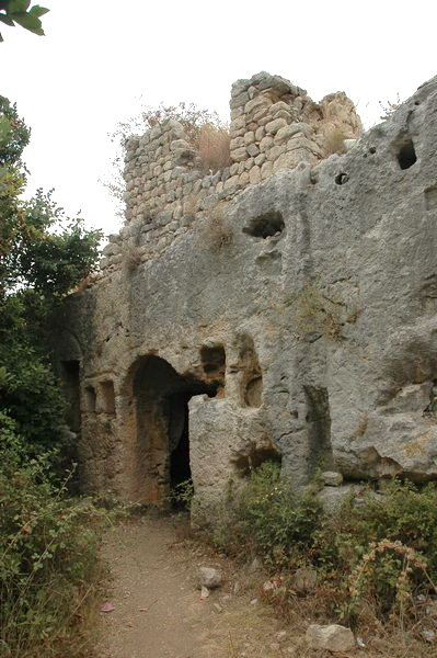 Seleucia in Pieria: rock tombs (2)