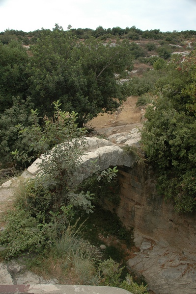 Seleucia in Pieria: Roman bridge (1)