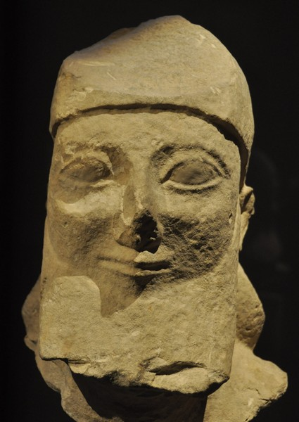 Cyprus, late archaic portrait of a man