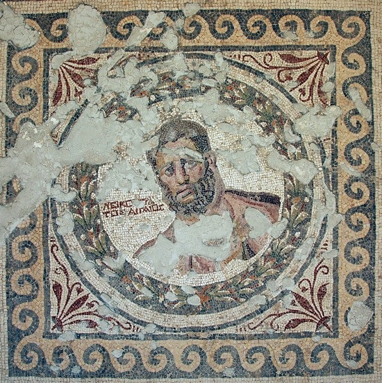 Seleucia in Pieria: athletes mosaic (2)