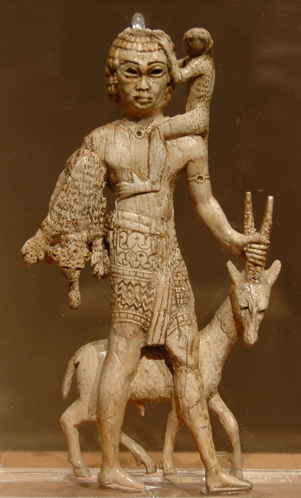 Nimrud, Nubian tribute bearer