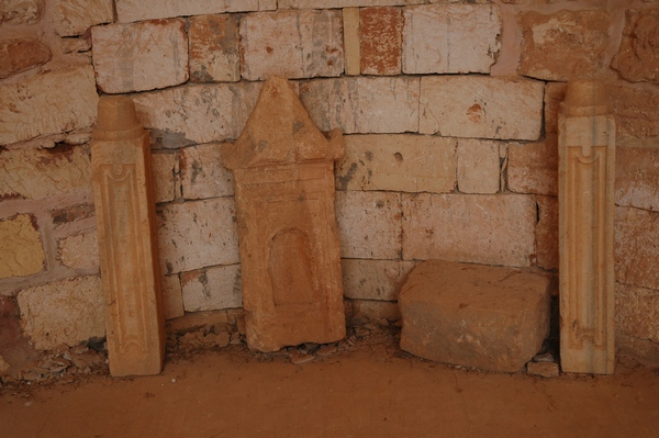 Qasr Libya, West Church, decoration