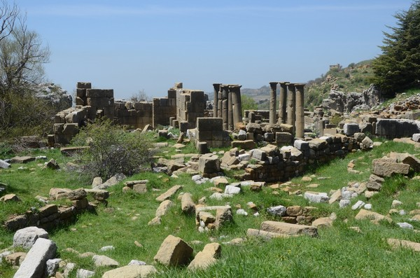 Faqra, temple of Atargatis and Byzantine church