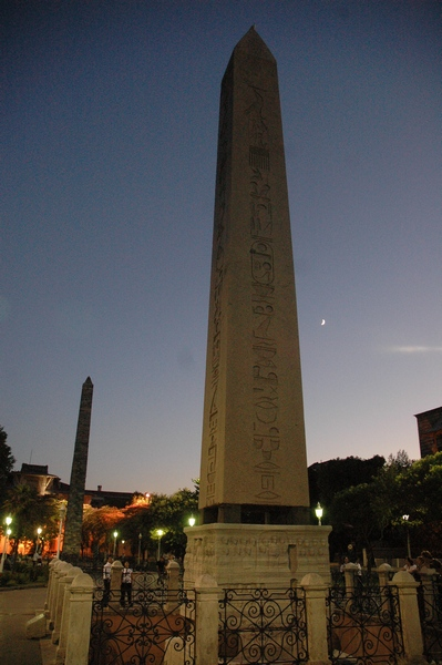 Constantinople, Hippodrome, First Obelisk, from the NE