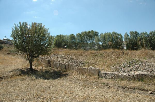 Satala, northern wall