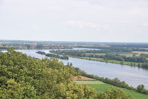 The Danube east of Regensburg