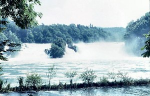 The waterfall at Schaffhausen