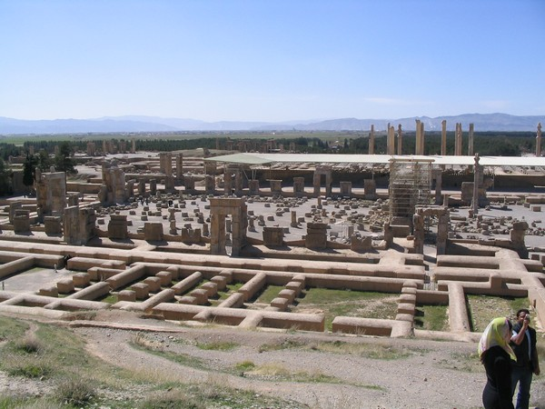 Persepolis, Garrison Quarters and Hall of Hundred Columns