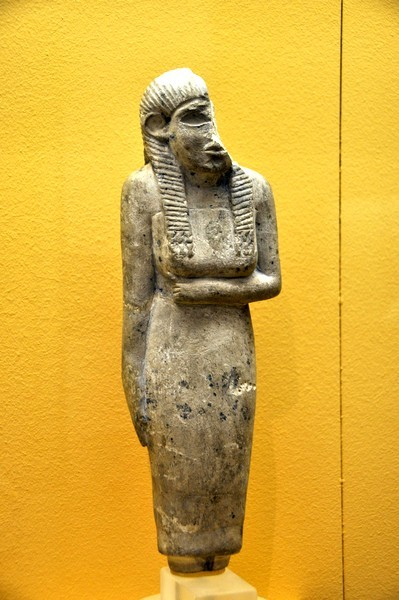 Abydos, statuette of a woman