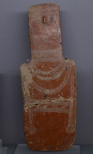 Lapethos, Plank-faced figurine