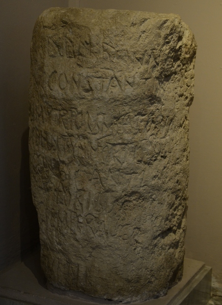 Soli, Milestone of Constantine the Great and sons