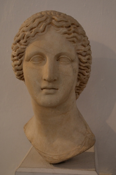 New Paphos, Bust of Artemis