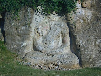 The Ghalagai Buddha