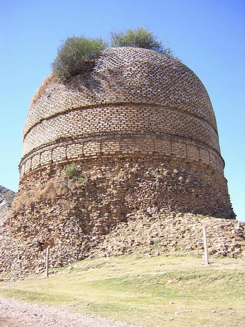 Shingardar, stupa foundations