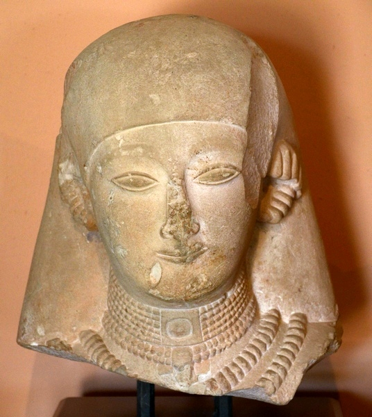 Kouklia, Marchellos, Head of an archaic statue