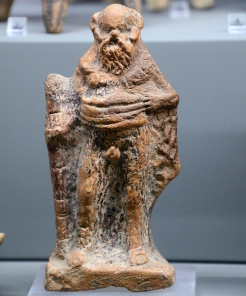 Hellenistic statuette of Silenus