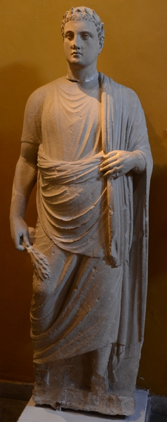 Vouni, Statue of a Ptolemaic prince (1)