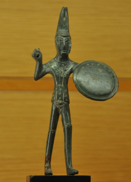 Statuette of an Etruscan warrior