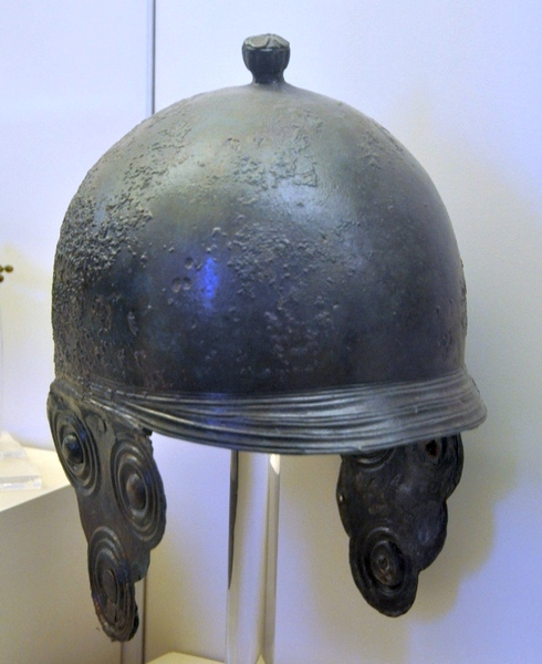 Helmet from Central Italy