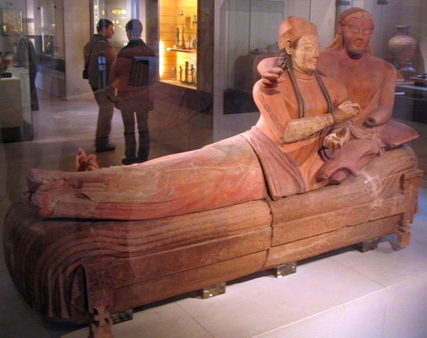 Caere, Sarcophagus of the Spouses