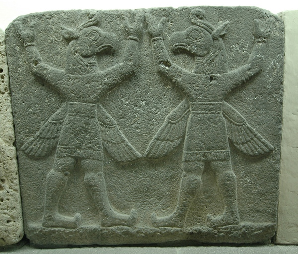 Karchemish, Neohittite relief of two winged demons