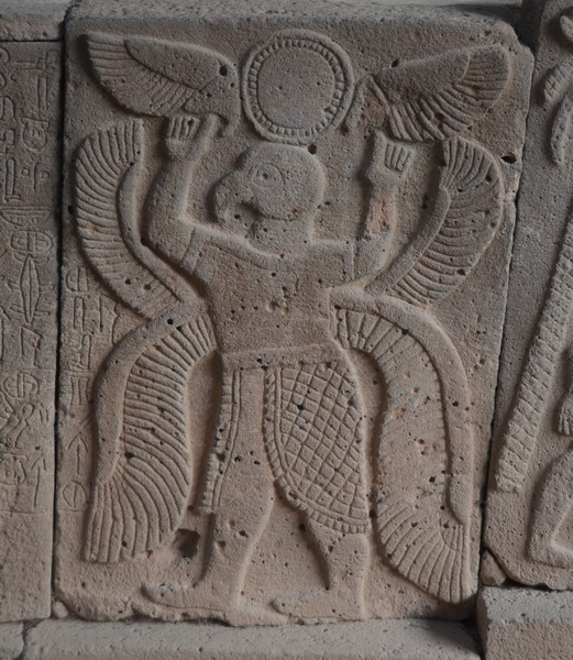 Karatepe, North Gate relief, Winged demon