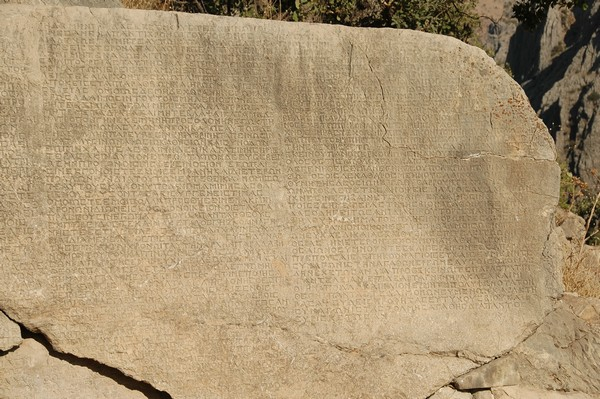 Arsameia, Site 3, Inscription - Livius