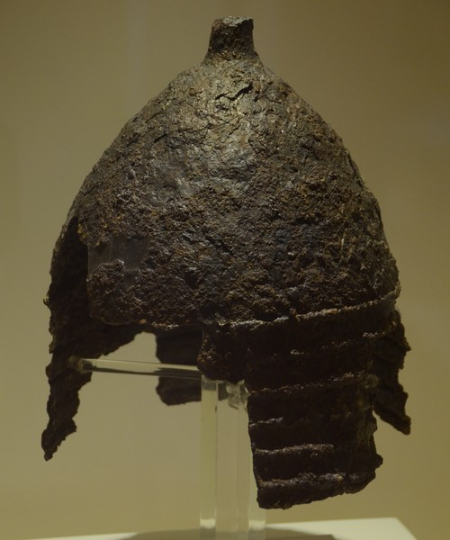 Hattusa, Early Iron Age helmet